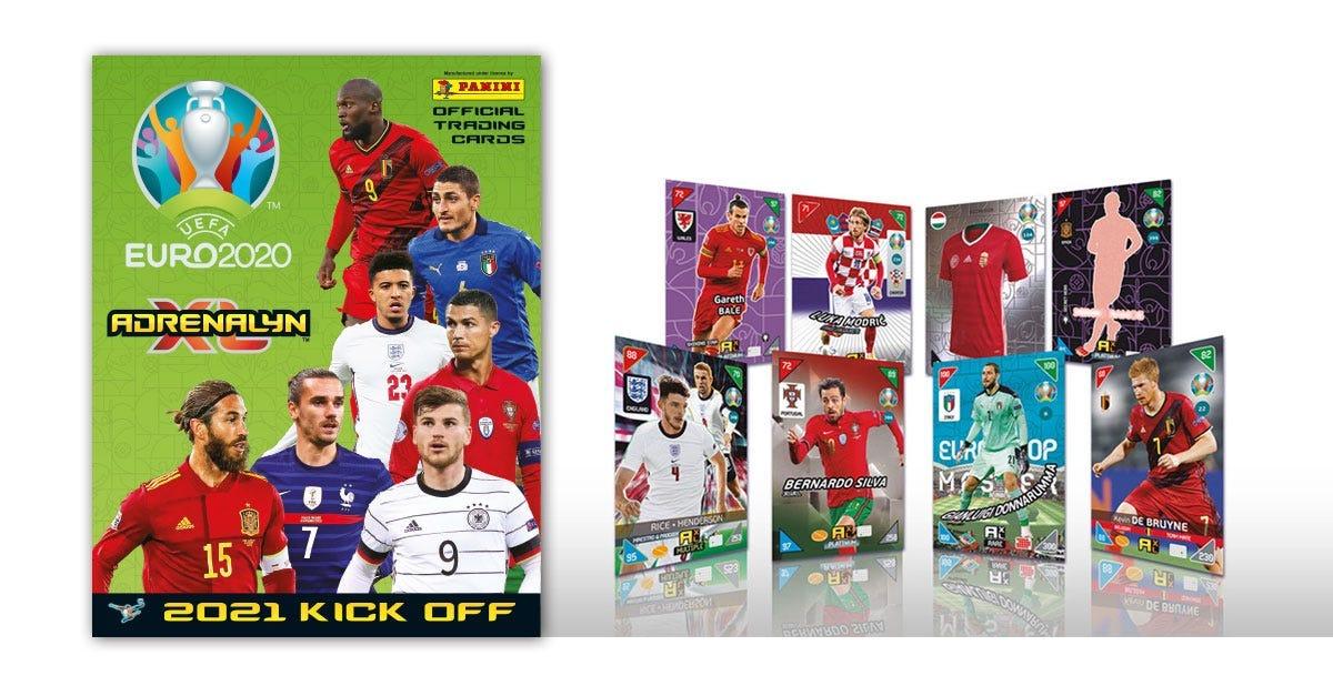 De UEFA EURO 2020™ Adrenalyn XL™ 2021 Kick Off officiële ruilkaartencollectie
