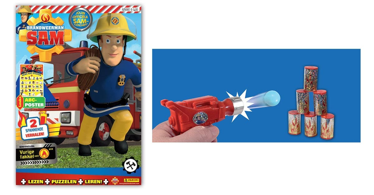 Brandweerman Sam 03/21
