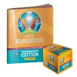 De UEFA EURO 2020™ Toernooi-editie officiële stickercollectie - het starterspakket is te koop!