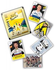 TOUR DE FRANCE 2021 - ontbrekende stickers