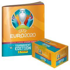 De UEFA EURO 2020™ Toernooi-editie officiële stickercollectie - het verzamelaarspakket is te koop!