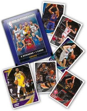 2020-2021 PANINI NBA STICKER AND CARD COLLECTION - Ontbrekende Kaarten